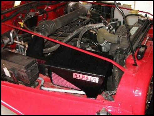 How To Install An Airaid Classic Intake Synthamax Dry
