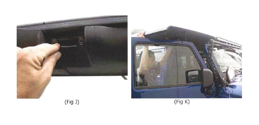 How To Install American Fastback Recon Solid Hard Top