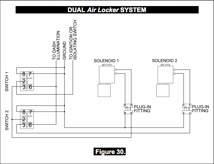 arb twin compressor wiring diagram arb image how to install an arb airlocker differential on your 1987 2017 on arb twin compressor wiring