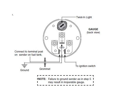 autometer oil pressure gauge wiring diagram electric oil pressure gauge wiring
