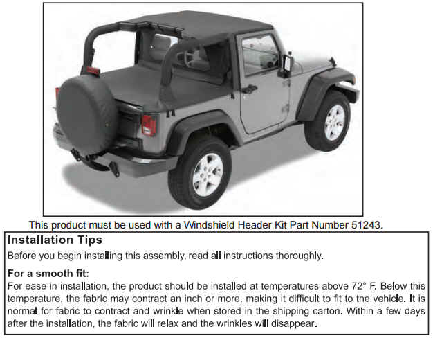 header bikini top on your 2010 2017 jeep wrangler jk extremeterrain. Cars Review. Best American Auto & Cars Review