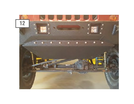 How To Install Deegan 38 Front Bumper W Led Flood Lights
