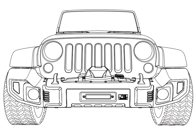 how to install rugged ridge spartacus front bumper kit w