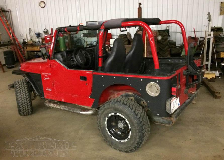 Jeep Wrangler Body Armor Overview Extremeterrain