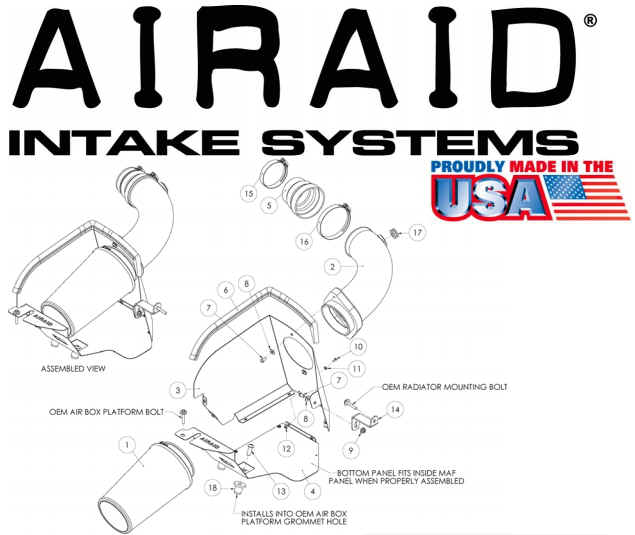 how to install an airaid intake system on your 2007