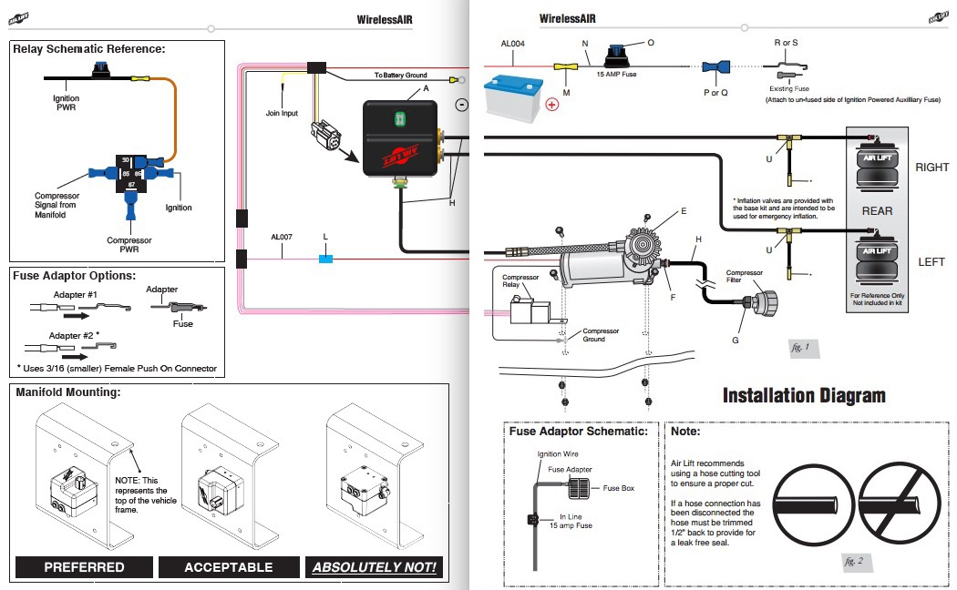How to Install an Air Lift Wireless On Board Air System on your 97 Mammoth C Compressor Wiring Diagram on parker wiring diagram, lynx wiring diagram, raven wiring diagram, phoenix wiring diagram, willcox wiring diagram,