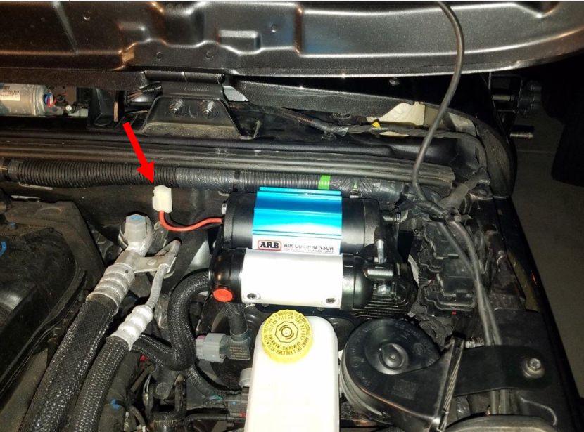 how to install arb high output air compressor (87 17 wrangler yj, tj Air Bags Compressor Wiring