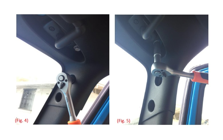 A Pillar Grab Handle Rugged Ridge A Pillar Rear Seat