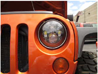 How to Install Axial LED Halo Headlights w/ Angel Eye DRL