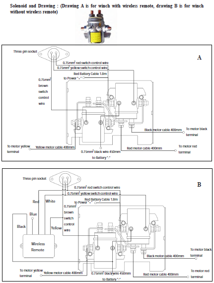 Winch Isolator Switch Wiring Diagram : Desert dynamics winch wiring diagram battery isolation