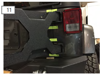 How To Install Barricade Hd Tire Carrier For Oem Tire