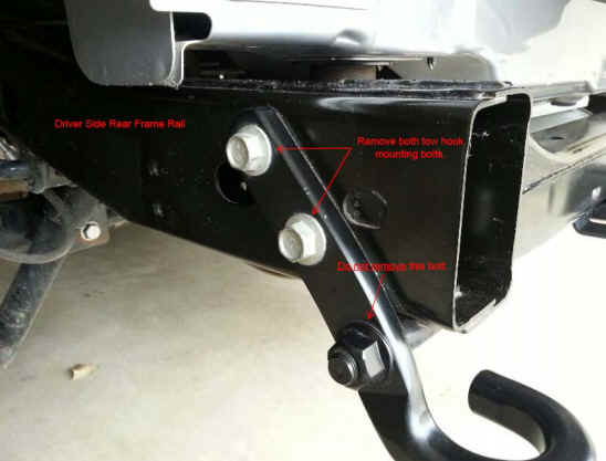 How To Install A Barricade Rear Tubular Bumper On Your