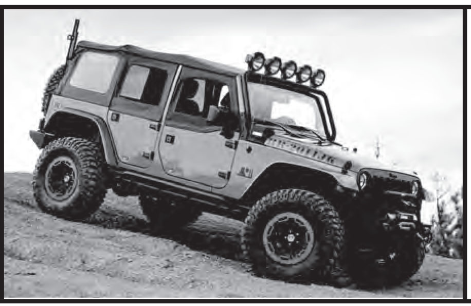 4DR JK UNLIMITED SOFT TOP (cable Type) INSTRUCTIONS