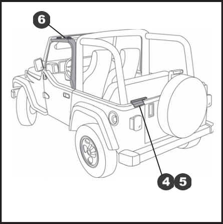 How To Install A Bestop Door Surround Kit On Your 1997 2006 Jeep