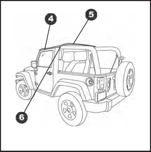 how to install a bestop header bikini top on your 2010 2017 jeep Jk Stock Wheel care and maintenance of your bestop product