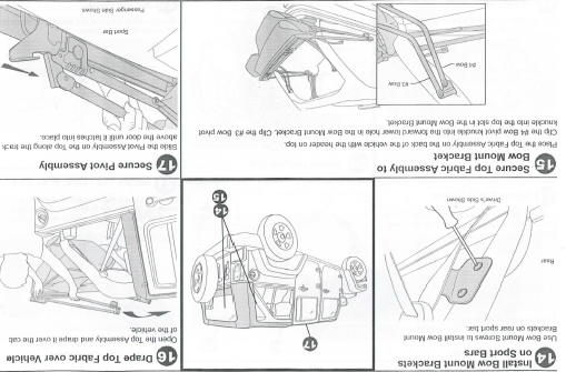 Jeep Wrangler Parts Diagram as well Bestop Oe Style Soft Top Replacement Bow Frame Kit 0717 Manu Install furthermore Tuff Country 4 Suspension Kit Jk 44000 besides Rugged Ridge Windshield Cb Radio Mount 0306 Tj Manu Install J109004 additionally Cargo Cover Jeep Wrangler Unlimited. on jeep wrangler soft top