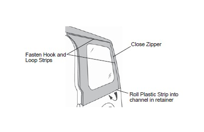 How to Install Bestop Replace-A-Top w/ Clear Windows - Black Diamond