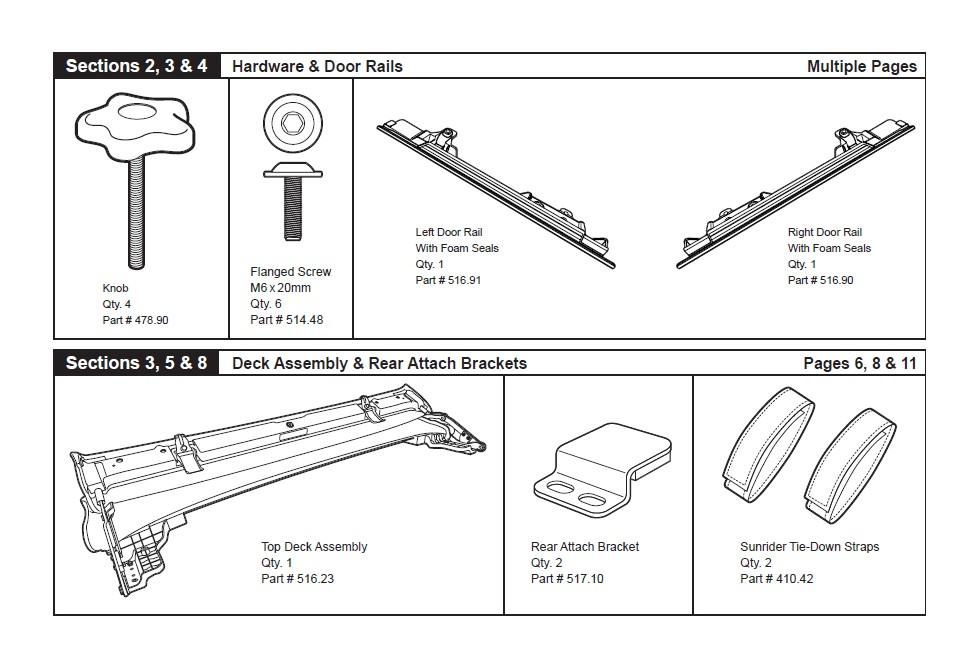 how to install bestop sunrider for hardtop
