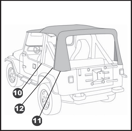 How To Install A Bestop Spice Supertop Nx On Your 1988 1995 Jeep
