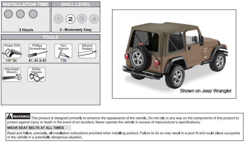 How To Install A Bestop Supertop Nx On Your 2004 2006 Jeep