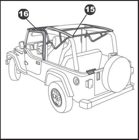 How To Install A Bestop Supertop Nx On Your 2004 2006 Jeep Wrangler