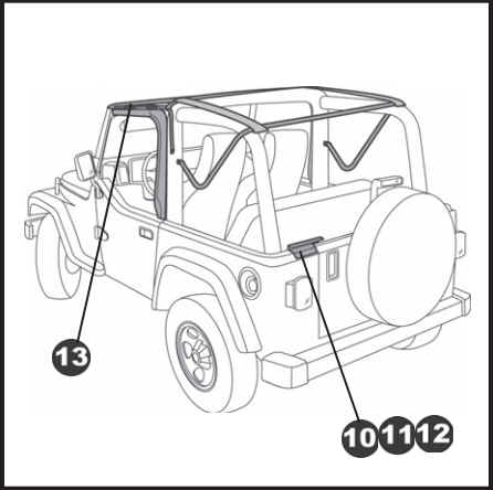 How To Install A Bestop Supertop Nx Wo Doors On Your 1997 2006 Jeep