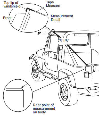 How To Install A Bestop Supertop On Your 1987 1995 Jeep Wrangler