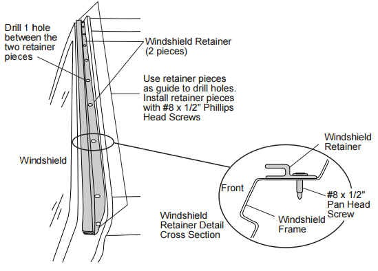 jeep soft top hardware diagram