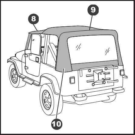 1990 Jeep Yj Wrangler Fog Lights