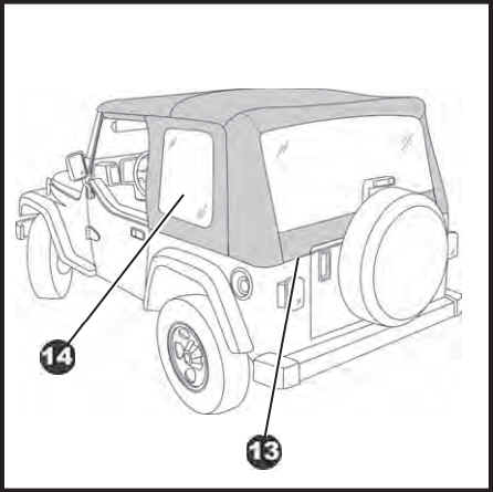 How To Install A Bestop Supertop Soft Top On Your 1997 2006 Jeep