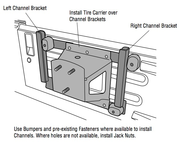 how to install a bestop tailgate rack bracket on your 1987