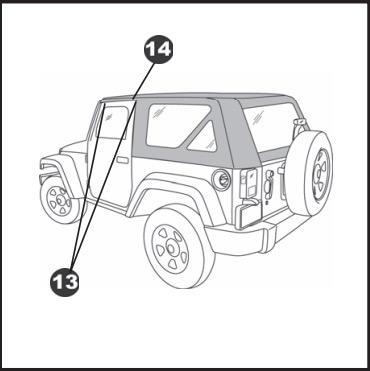 How To Install A Bestop Trektop On Your 2007 2017 Jeep Wrangler Jk