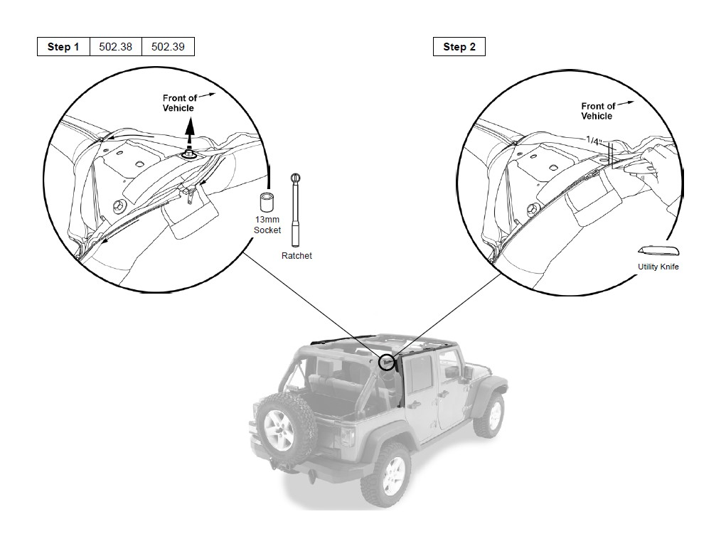 How To Install A Bestop Trektop Nx On Your 2007 2017 Jeep Wrangler