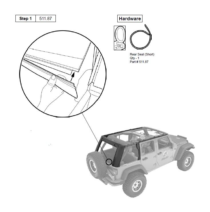 how to install bestop trektop pro 07 17 wrangler jk 4 door on your rh extremeterrain com