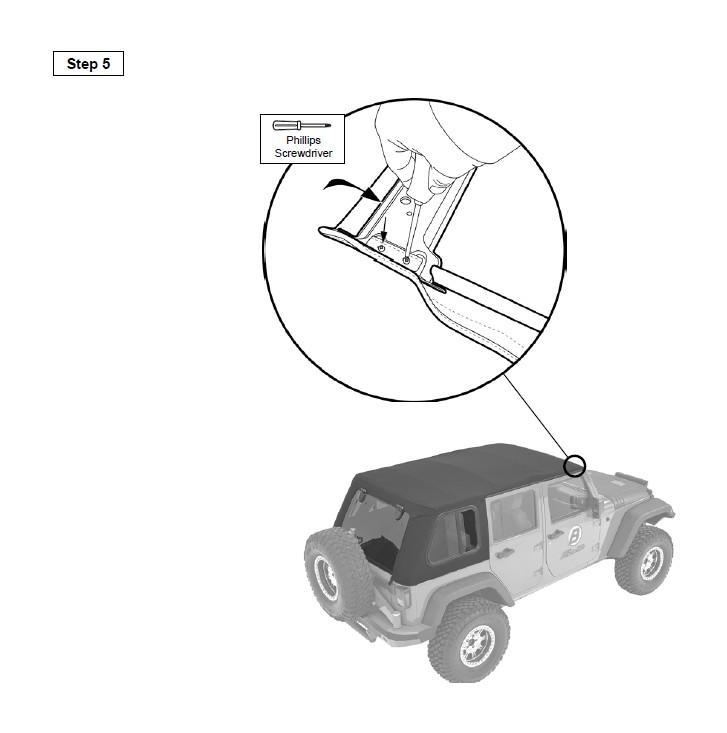 How To Install Bestop Trektop Pro 07 17 Wrangler Jk 4 Door On Your