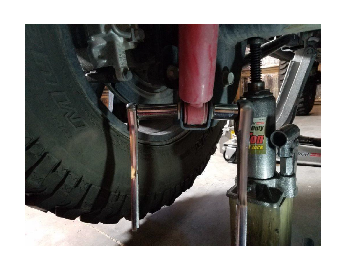 How to Install Bilstein 5100 Series Rear Shock for 2-3 5 in