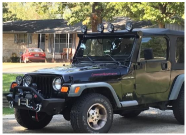 How to install carr xrs rota light bar black 97 06 wrangler tj with the light bar mounting complete level the bar rotation to the desired angle and secure the 38 bolt on both ends of the light bar aloadofball Images