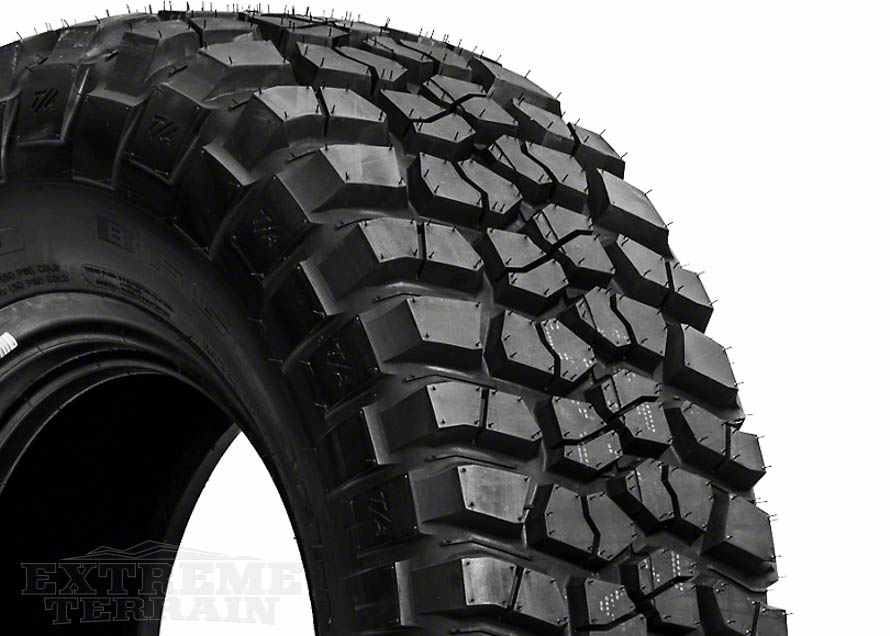 Mud-Terrain Wrangler Tire Close Up