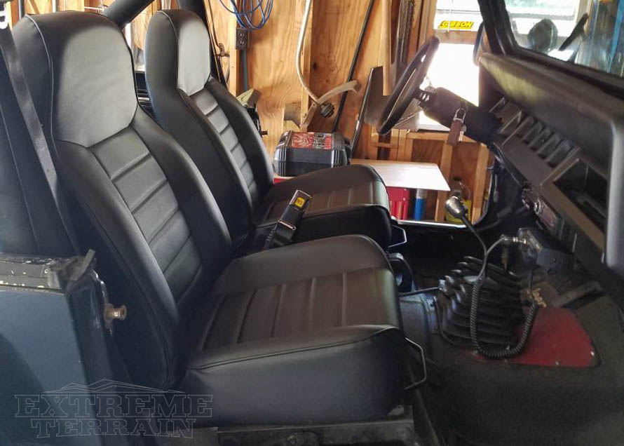 Neoprene Jeep Seat Covers >> Modifying Your Jeep Wrangler's Seats - Covers ...