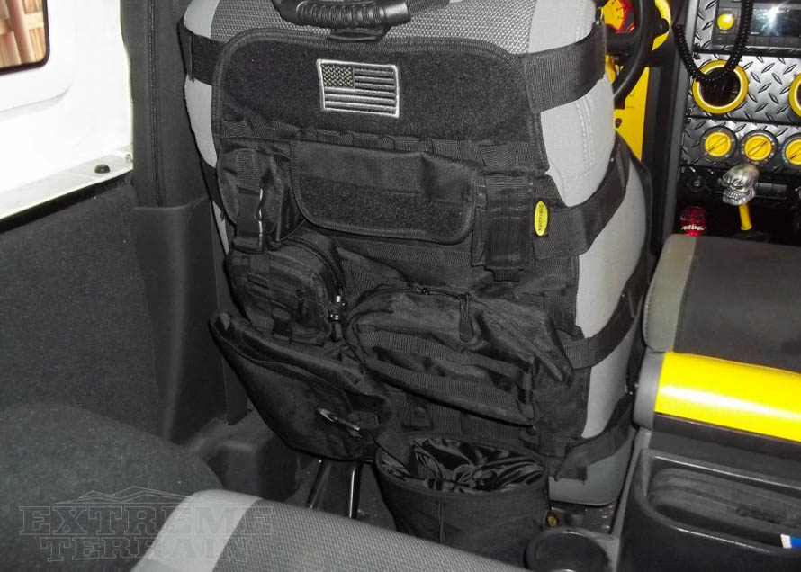 1987-2017 Wrangler Seat Cover with Pockets