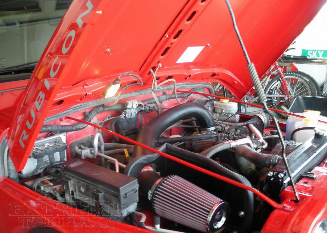 Jeep Wrangler TJ Overview