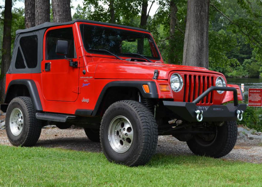 Jeep Tj Overview Second Generation Wrangler Facts