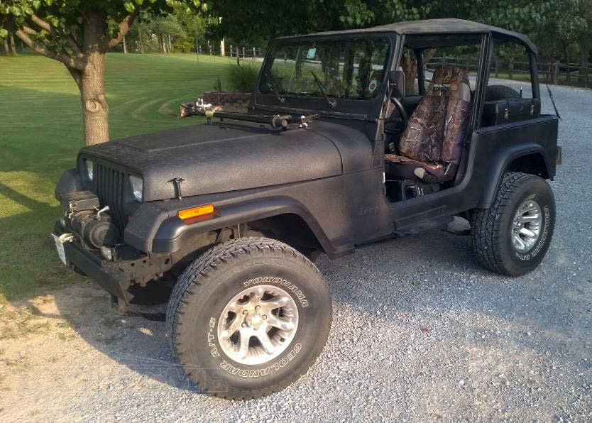 JEEP Wrangler YJ backup Backup MINI 5 a 87-95