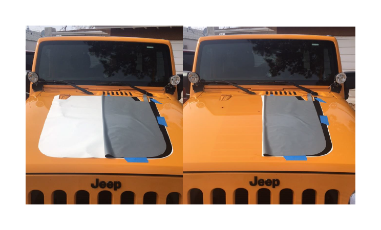 How To Install XT Graphics Hood Decal Matte Black On Your - Jeep hood decalsgraphics for jeep wrangler hood decals and graphics www