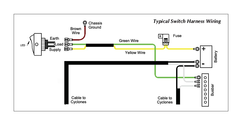 kc lights wiring diagram relay