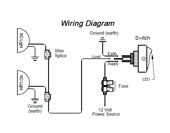 jeep kc lights wiring diagram  auto wiring diagrams budge