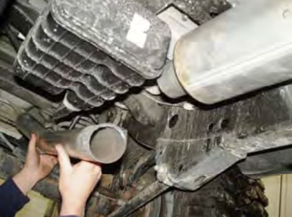 How to Install a MBRP Off-Road Tail Pipe, Muffler before Axle, on