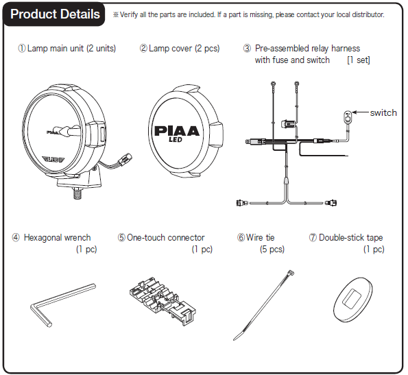 How to Install PIAA LP530 3 5 in  Round Ion Yellow LED
