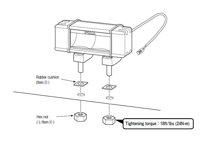 How to Install PIAA RF Series 10 in. Yellow LED Light Bar - Fog Beam ...
