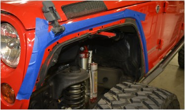 How to Install Poison Spyder Extra Wide Front Crusher Fender